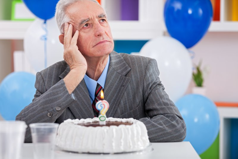 older man confused lost memory